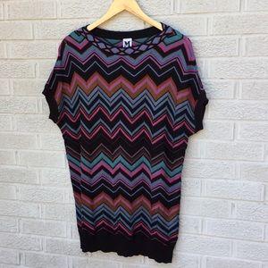 Missoni Classic Chevron Print Knit Sweater